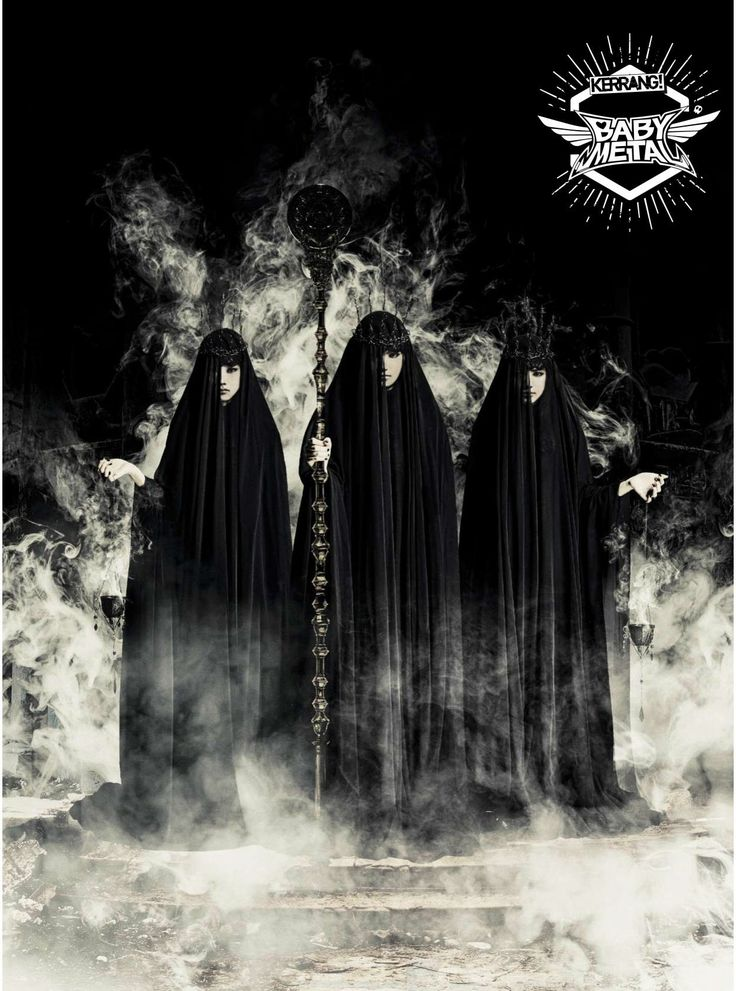 "2016.10.19 - BABYMETAL ""Metal Resistance"" poster on Kerrang Magazine - Album on Imgur"