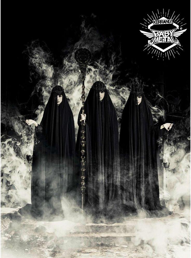 "2016.10.19 - BABYMETAL ""Metal Resistance"" poster on Kerrang Magazine - Album on Imgur"