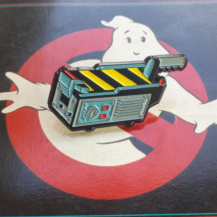 "Ghostbusters Ghost Trap 1.5"" Lapel Pin - Thumbnail 1"