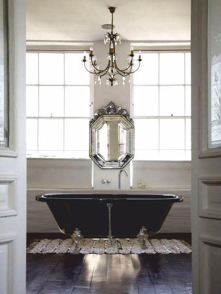 Luxury tub.