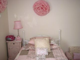 Girls bedroom on a budget