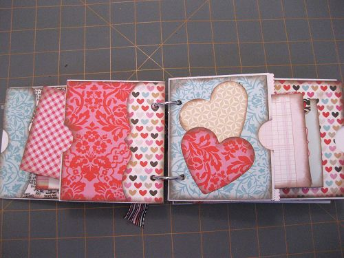 some really cute ideas within this fancy pants mini envelope album