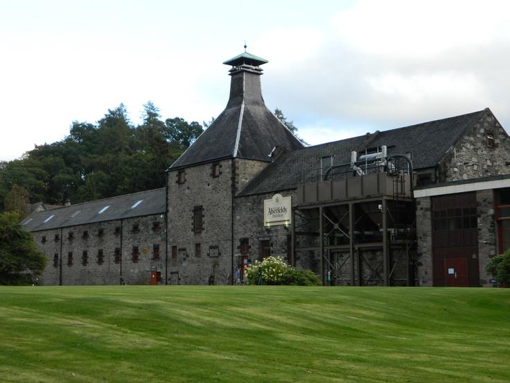 Dewars Scotch whiskey distillery - Aberfeldy, Scotland