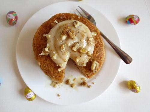 carrot cake protein pancakes | Recipes/kitchen | Pinterest