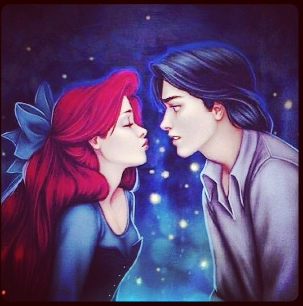 128 best Ariel and eric images on Pinterest Disney magic Disney