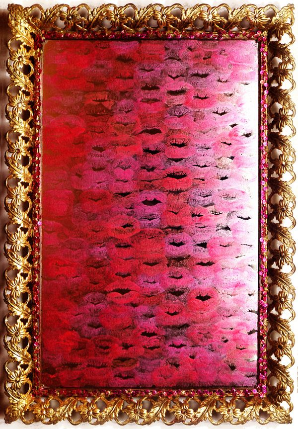 1000 images about lipstick on mirrors on pinterest for Mirror kisses