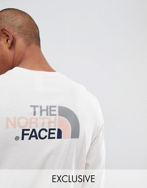 a399cfaf8 The North Face Exclusive to ASOS Long Sleeve Easy T-Shirt in Vintage ...