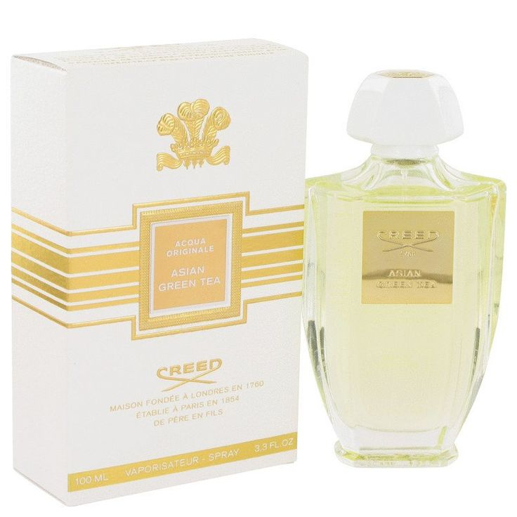Asian Green Tea Perfume By Creed Eau De Parfum Spray. Introduced in 2014, asian green tea women's fragrance is a light, earthy scent for women who revel in the daily feeling of accomplishment that der