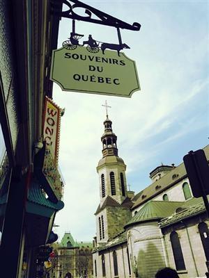   ?   souvenirs du Vieux Quebec   by © wikatiepedia