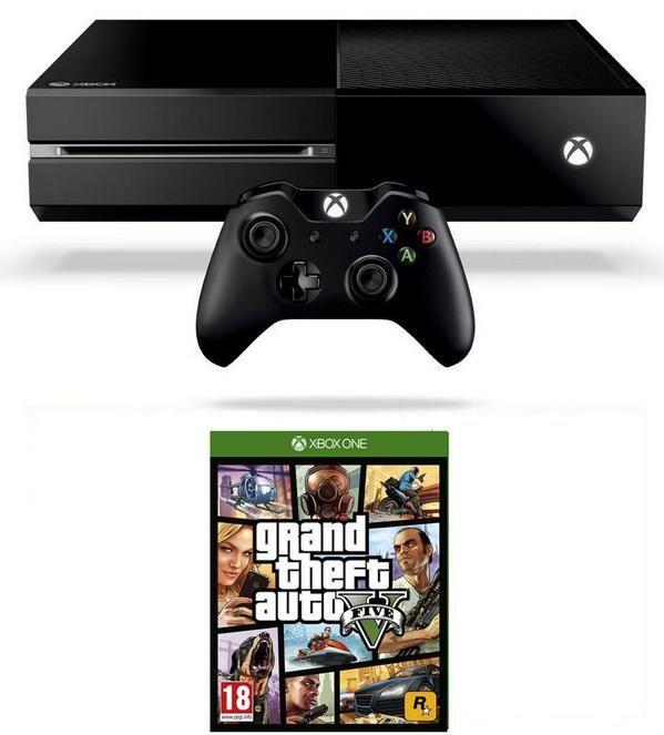 PRE-ORDER PRICE DROP Xbox One Console GTA V / COD: Advanced Warfare & More Bundles NOW £329