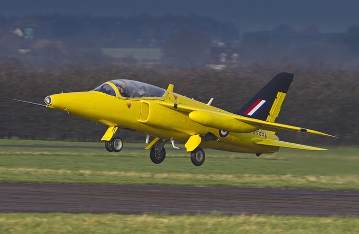 Gnat Display Team Folland Gnat G-MOUR. Former RAF trainer and fighter version served with Finnish and Indian Air Forces.
