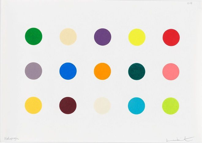 Damien Hirst, Haloprogin, 2011 at www.meadcarney.com  #DamienHirst #MeadCarney #London #art #artgallery