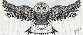Картинки по запросу тату сова эскиз