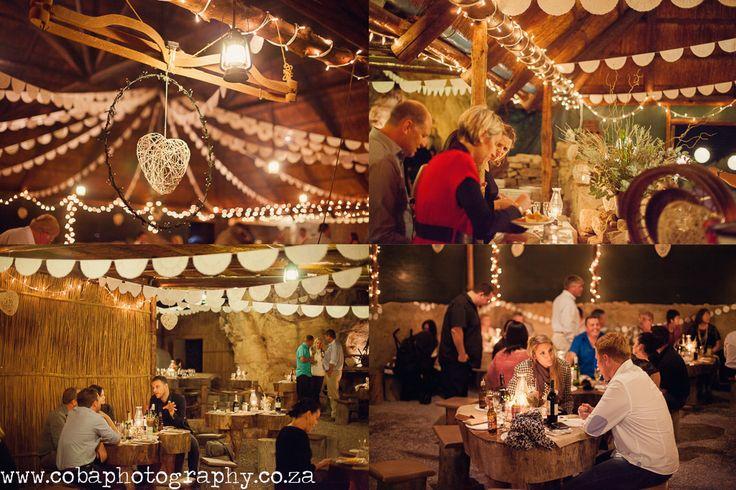 Roofed area wedding @ Bosduifklip #farmweddings