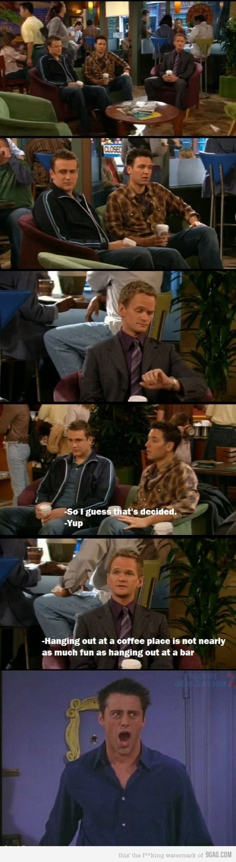 I laughed so hard when I saw that episode of How I met your mother. I <333 both though!