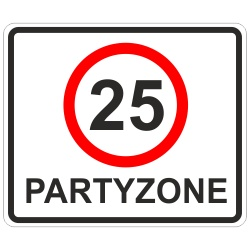 Partyzone 25. Geburtstag