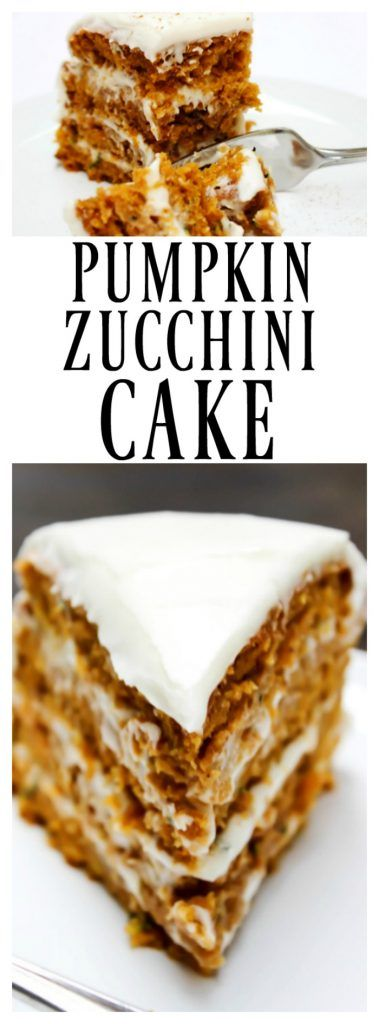 PUMPKIN ZUCCHINI CAKE - A Dash of Sanity