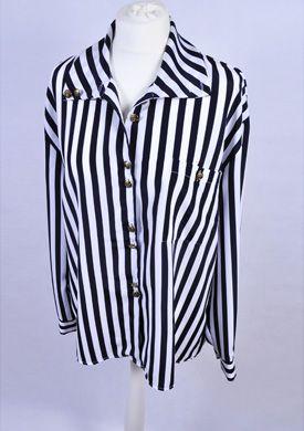 vintage koszula w paski