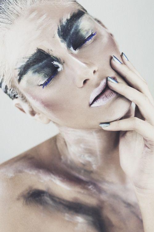 darkbeautymag:  Photographer: Nati KerenMakeup: Alisa...