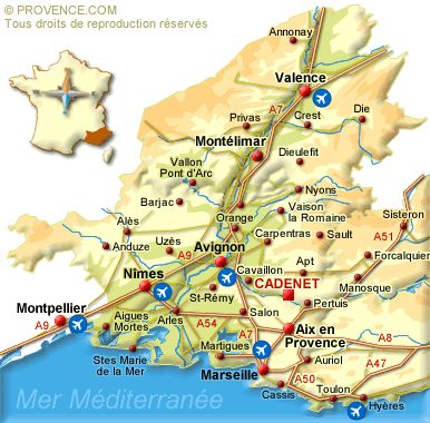 South France Journey - In the South of France, journey in the Luberon in Provence
