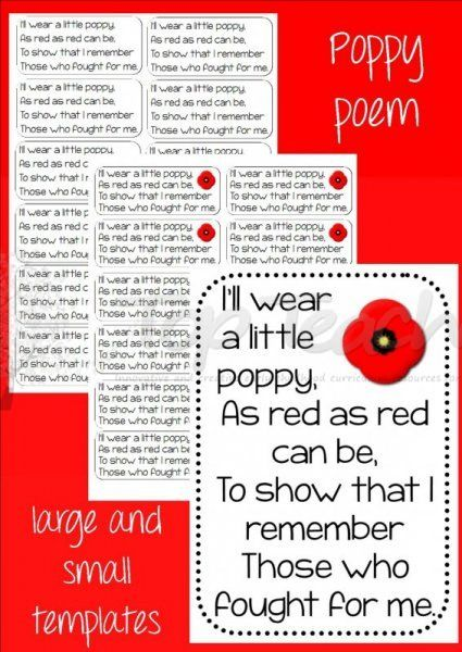 Little Poppy Poem (big and small) | Top Teacher - Innovative and creative early childhood curriculum resources for your classroom
