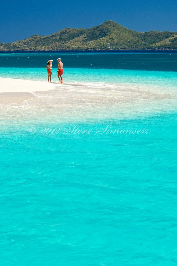 Buck Island, St. Croix, my favorite place in the world, the water is seriously this blue