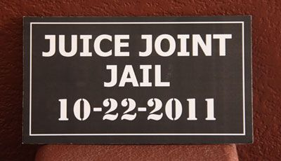 Murder at The Juice Joint Decorations