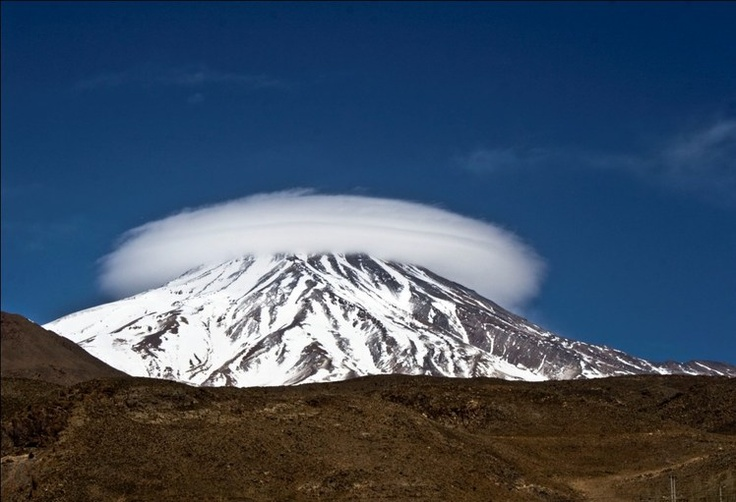 """Damavand """" the highest mountain in IRAN & Middle East"""