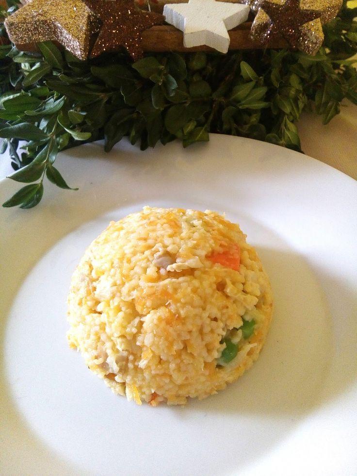 Taková obdoba rizota, v době, kdy dítě už rýži nemůže ani vidět.