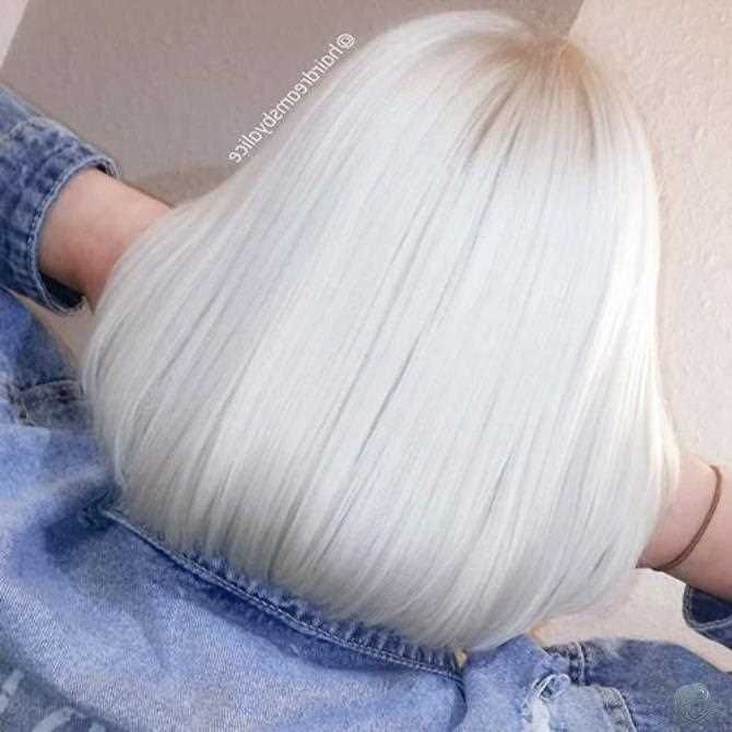 30+ Neue Ideen für kurze weiße Haare 2019   – Hair Color – #Color #für #Haare… – Martha Korngold
