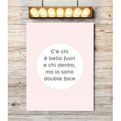 Poster bellezza double face (a partire da euro 15,90)
