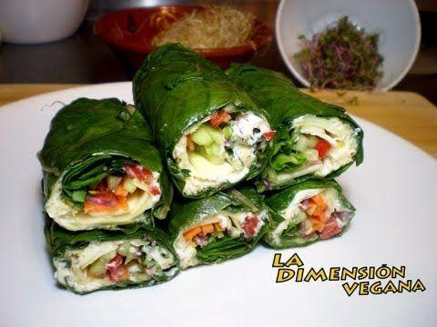 La Dimensión Vegana: Green wraps