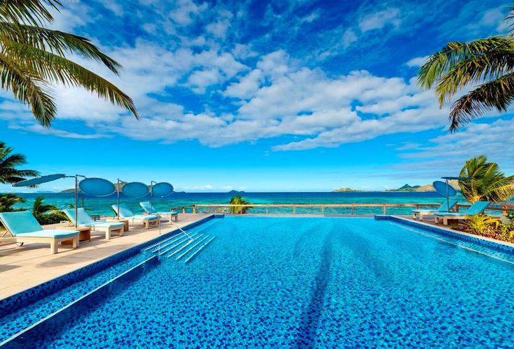 Seaside pool