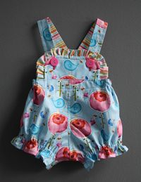 Romper pattern--free--and so cute