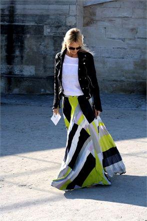 Gonne lunghe - Vogue.it