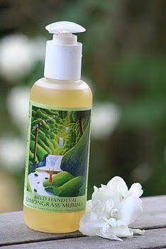 Ekologisk Handtvål med citrongräs och kardemumma från Senses by Nature