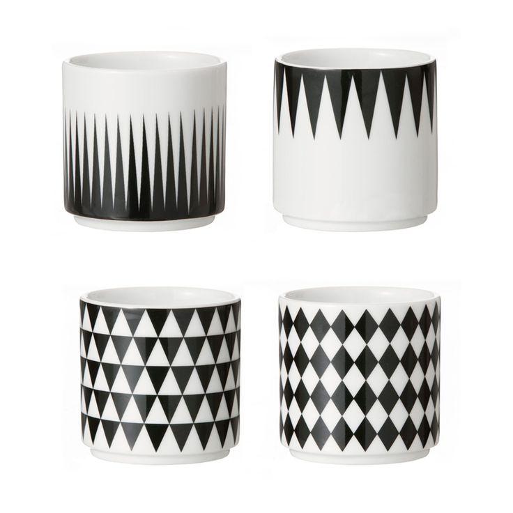 Geometry espresso mugs – Ferm Living