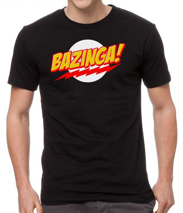Lightning+Bolt+Big+Bang+Theory+Nerd+Geek+Funny+Black+Men+T-Shirt