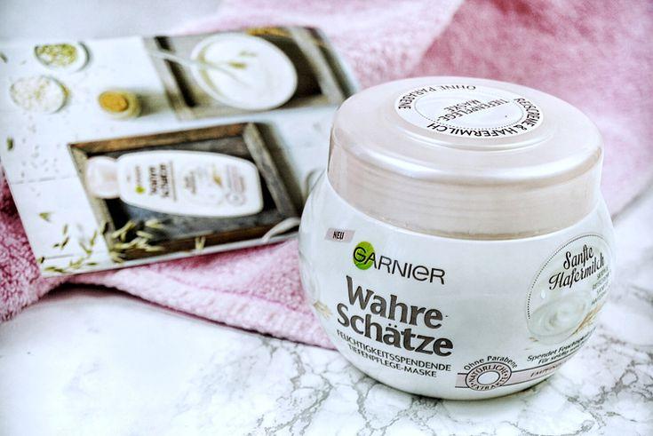 Garnier Sanfte Hafermilch Tiefenpflege Maske