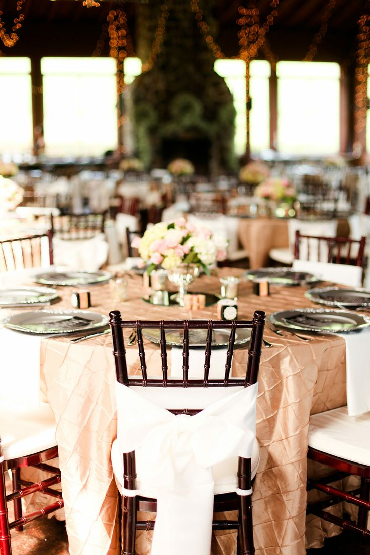 long table setup wedding reception%0A Country Side Wedding at Pfeiffer Vineyards