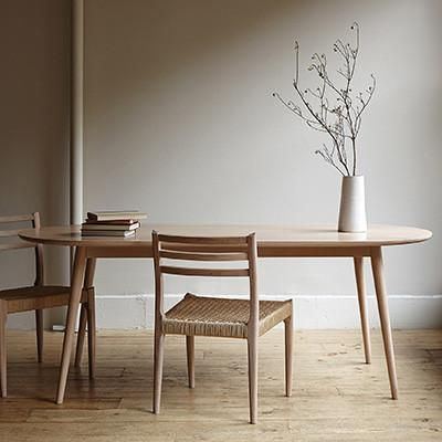 Inspired by Danish Mid-Century designs, with a modern twist. åÊSolid oak construction, with a white wash finish. - All our furniture is individually handcrafted, so each piece is charmingly unique. Sm