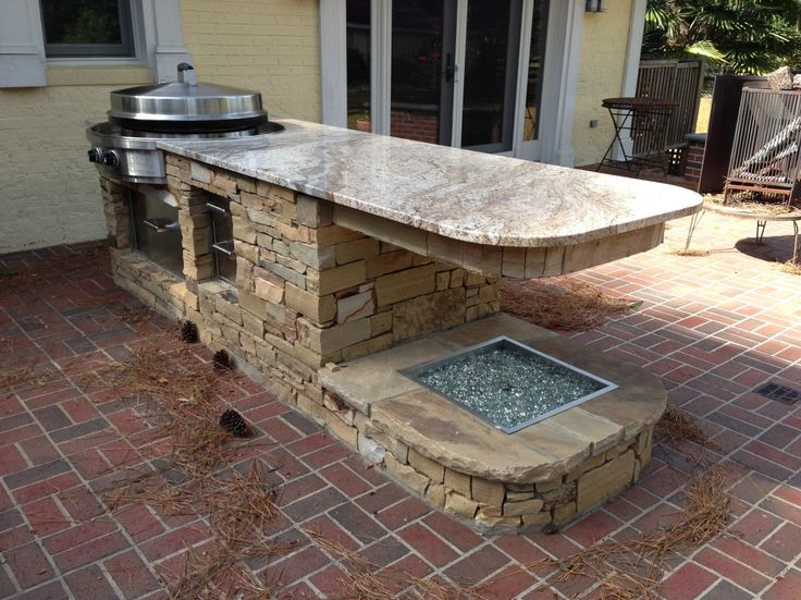 How To Build A Outdoor Kitchen Fascinating Creamy Marble