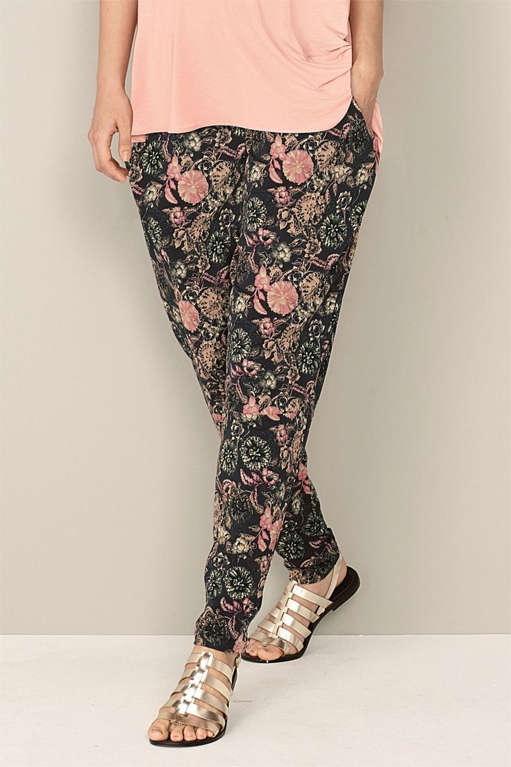 Next Tapered Trousers - Maternity - EziBuy Australia #thebrandstore #next #florals #flowerpower