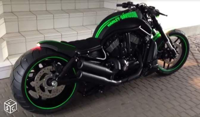 Harley Night Rod Show Bike Pneu 300