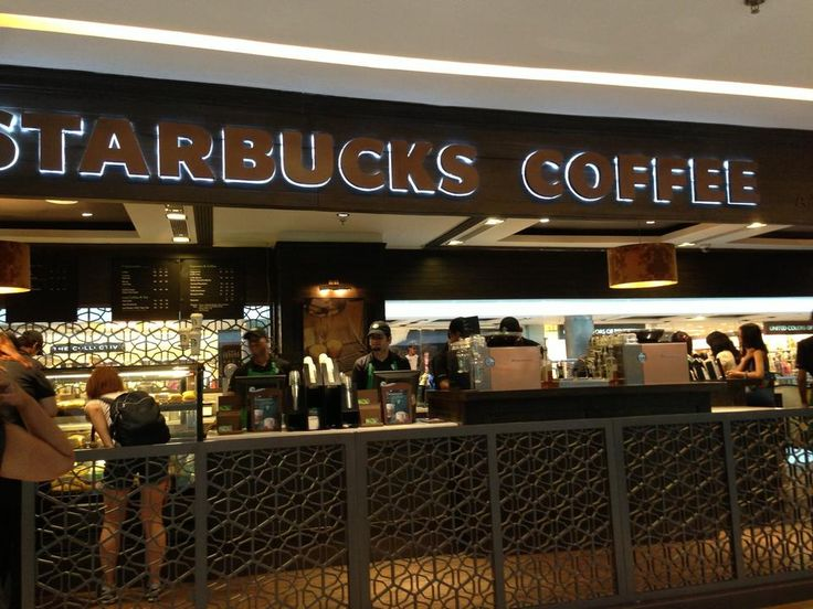 Starbucks Coffee : A Tata Alliance -  Of course everyone's favorite coffee shop can be found here #NewDelhi