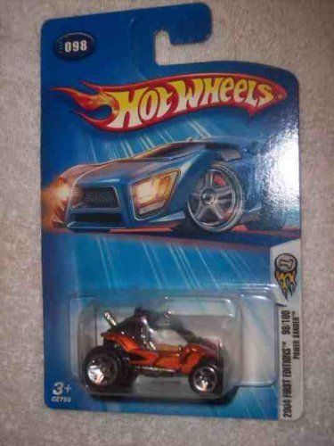 2004 - Mattel - Hot Wheels - First Editions Power Sander - Copper - Collector #098 - Larger Rear Wheels - New - Out of Production - Limited Edition - Collectible by Mattel. $5.49. New - Mint - Rare - Limited Edition - Collectible. 2004 - Mattel - Hot Wheels - First Editions - Collector #098. Hot 100 - Off Road Rear Tires - Item #C2759. Out of Production - 1:64 Scale Die Cast Metal. Power Sander - Copper Color - 5 Spoke Wheels. 2004 - Mattel - Hot Wheels - First Editions...