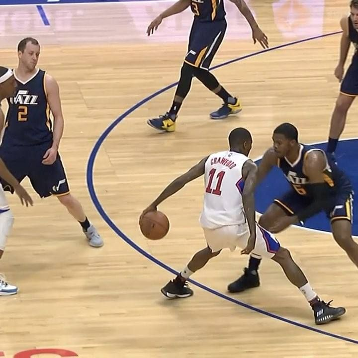 Jamal Crawford's got the moves!