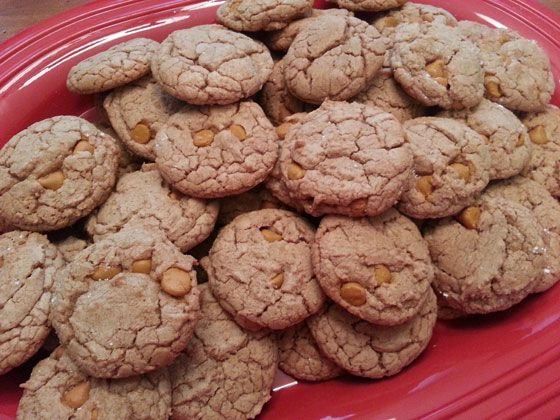 Butterscotch Spice Cookies - start with a spice cake mix and add 4 ingredients