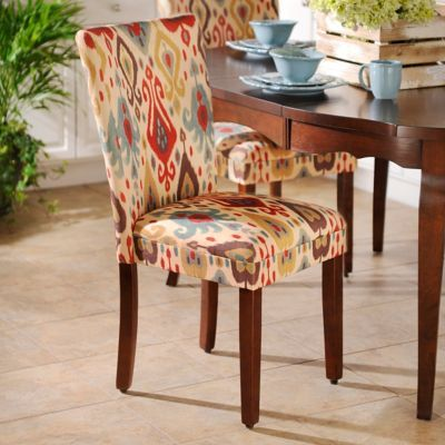 Ikat Parsons Chair Parsons Chairs Dining Room Chairs Chair