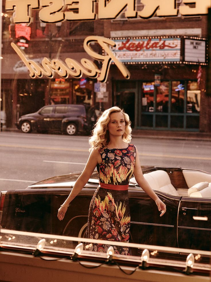 Mikael Jansson / Vogue US, October 2014 / Reese Witherspoon